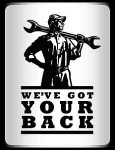 We've Got Your Back logo