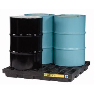 EcoPolyBlend™ Accumulation Center, 4 drum, recycled polyethylene
