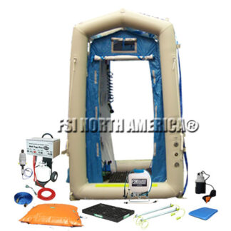 Complete Air Inflatable/Pneumatic Mass Casualty Decon Shower System