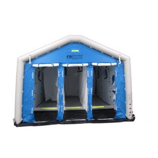Portable Pneumatic Hazmat Decon Shower