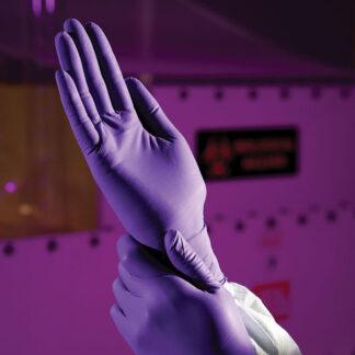 Purple Nitrile Exam Gloves