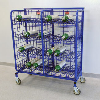Mini Mobile O2 cylinder system
