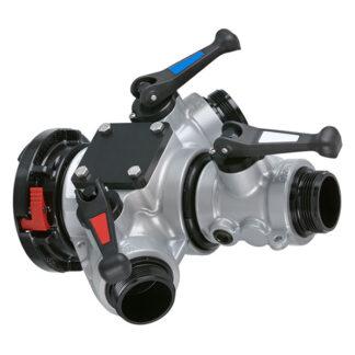 3-way valved manifold
