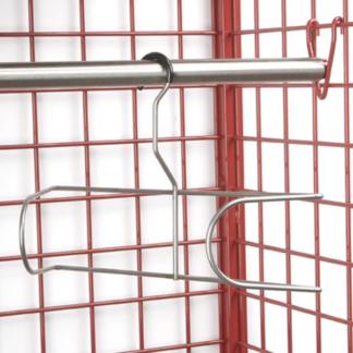 dryer hanger on rack