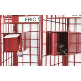box on rack
