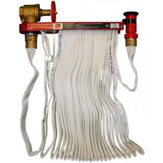rack with hose