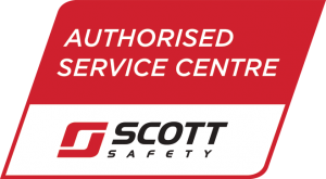 Scott Safety authorized Service Centre logo