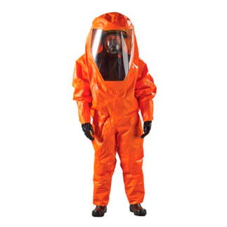 orange hazmat suit