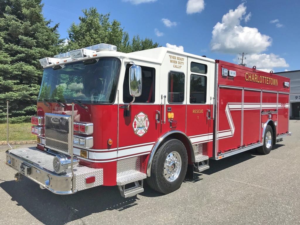 Heavy Rescue vehicle