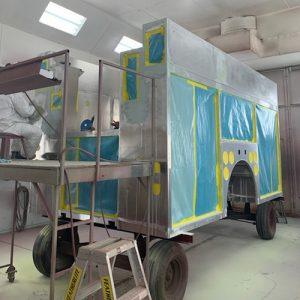 truck in shop