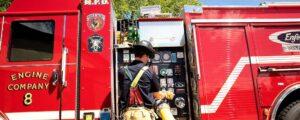 firefighter pumping