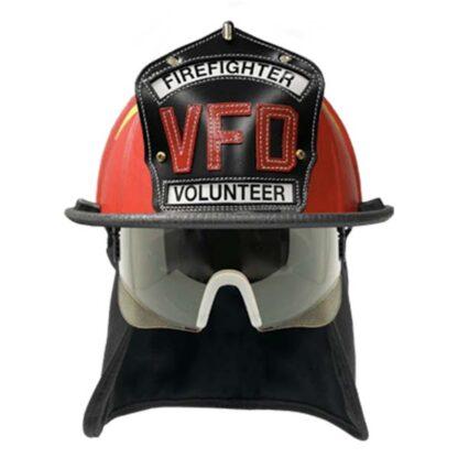 red helmet